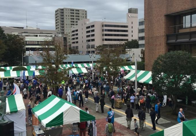 あさお区民祭り2018に行ってきました。